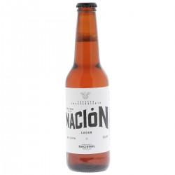 biere - NACIONAL MORELOS NACION LAGER 35,5CL - Planète Drinks