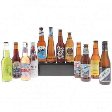 COFFRET BIERE - BOX BIERES DE L'ETE 12*33CL - Planète Drinks