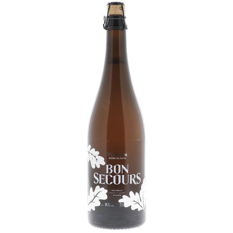 biere - BON SECOURS BLONDE 75CL - Planète Drinks