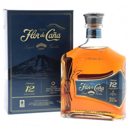 FLOR DE CANA CENTENARIO 12 ANS 70 CL
