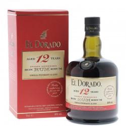 RHUM EL DORADO 12 ANS 70CL