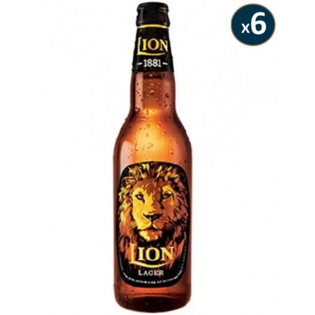 LION LAGER 6*33CL