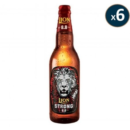 LION STRONG BEER 6*33CL