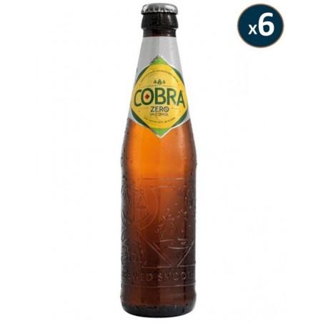 COBRA ZERO SANS ALCOOL 6*0.33L