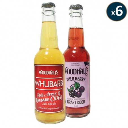 ASSORTIMENT 12 CRAFT CIDERS 33CL