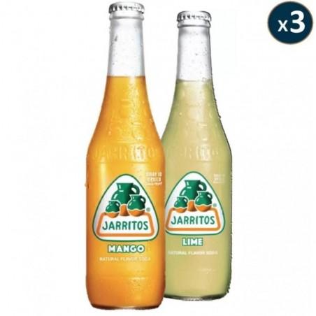BOX DECOUVERTE JARRITOS SODA MEXICAIN 2*3*0,37L