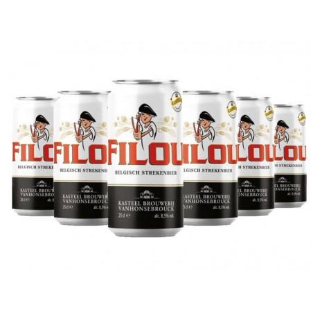 FILOU 6*0.25L CAN