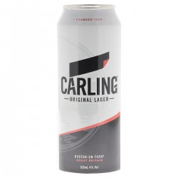 CARLING LAGER 50CL CAN