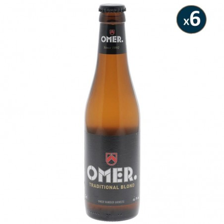 OMER TRADITIONAL BLOND 6*33CL